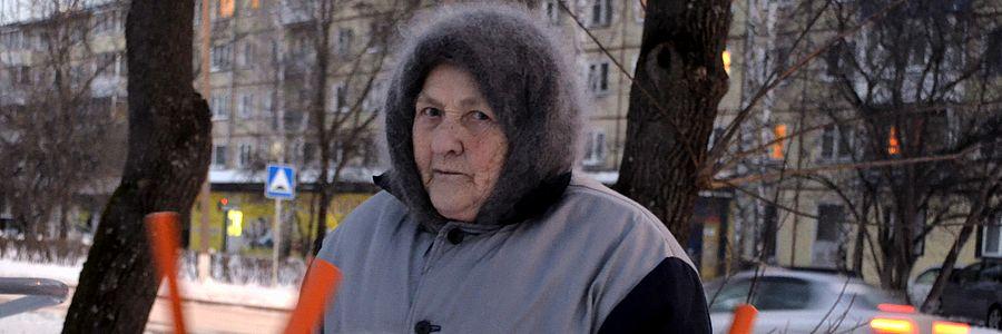 Баба Тоня на тренажёрах
